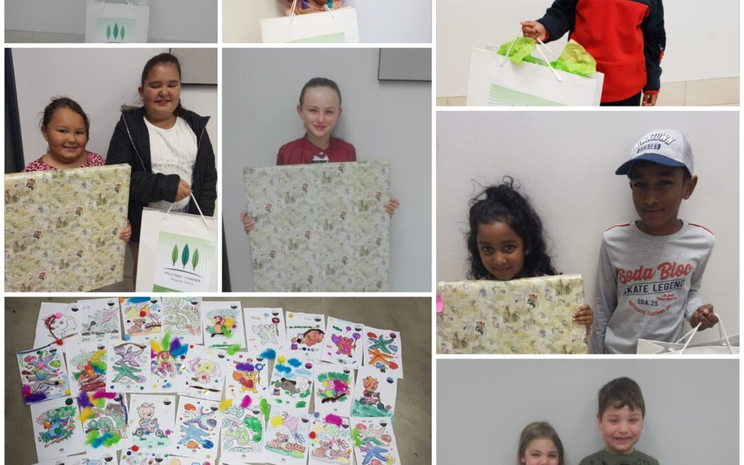 Kids win big at the centre's Creative Art Competition