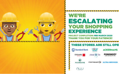 Escalating your shopping experience!